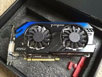 MSI GeForce GTX 660 Ti Twin Frozr IV Power Edition in MINT CONDITION