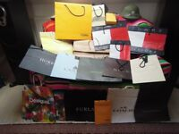 Designer Carrier Bags - Approximately 50+