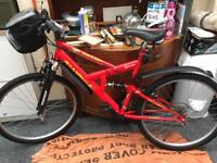 Red Rampage 26 Inch Mountain Bike