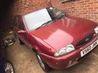 Ford Fiesta zetec 1.2 not march spares repairs