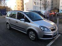 Vauxhall zafira 1.6 16v manual new MOT 1 owner car
