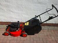 Champion 18 inch Petrol Lawnmower.... Like New... SERVICED