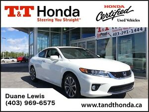 2013 Honda Accord EX-L - *Leather, Sunroof, No Accidents, Low KM
