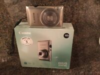 Canon IXUS 220 HS digital camera (in perfect condition) including original box and contents