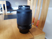 Nikon 55-200mm F/4-5.6 SWM AF-S VR DX ED Lens