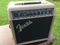 Fender Accoustasonic 15 accoustic amplifier
