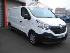 Renault Trafic LL29 Business DCI S/R P/V One Owner FSH Warranty 21000 Miles Used Van Sales