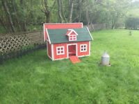 Bantams and Chicken Coop