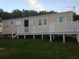 Caravan to rent in Dawlish Devon Golden Sands sleeps 8