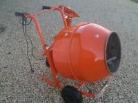 Build Buddy electric cement mixer,large 134L drum with stand