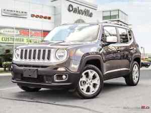 2017 Jeep Renegade LIMITED | NAV | 4x4 | REMOVABLE ROOF PANELS |