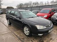 FORD MONDEO 2.5 GHIA AUTOMATIC /FULL LEATHER HEATED SEATS /LONG MOT