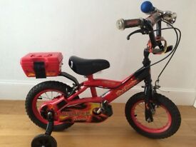 Child's bike with stabilisers (aged 2-4yrs) 12 inch wheels