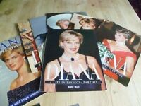 Collection of Diana Magazines /DIANA A LIFE IN FASHION