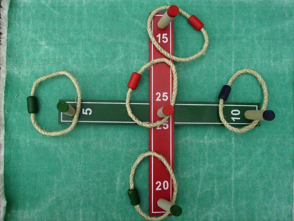 QUOITS. A CLASSIC GAME OF SKILL .