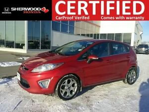 2012 Ford Fiesta SES| BLUETOOTH| HEATED LEATHER| LED FOG