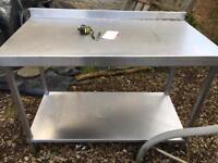 Commercial Catering Stainless Steel Table restaurant garage workshop Tanle