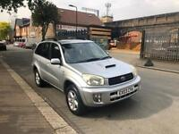 TOYOTA RAV4 D-4D VX ESTATE DIESAL 5DOOR HATCH BACK WITH LOW MILES FULL SERVICE HISTROY AND FULL MOT
