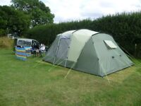 Outwell Oakland Xl tent, with carpet and footprint