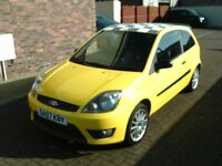 2007 07 FORD FIESTA 1.6 ZETEC S 30TH ANNIVERSARY NO. 60 ** YELLOW WITH BLACK LEATHER **