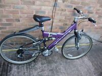 Bicycle / bike, Raleigh Max mountain bicycle, aluminium, 18 speed, great condition