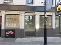 COMMERCIAL SHOP HOXTON STREET N1 FOR LEASE LOW BUSINESS RATES