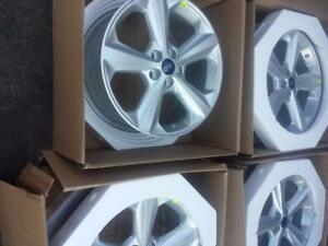 BRAND NEW NEVER MOUNTED  18 INCH FORD EDGE 2015 - 2018 FACTORY OEM ALLOY WHEEL SET OF FOUR