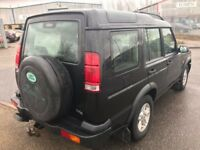 2001 LAND ROVER DISCOVERY II 2.5 TD5 GS 7 SEATER 5 DR 4X4 ESTATE LOW MILEAGE M.O.T 28/11/2018