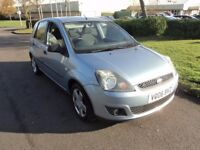 06'ford fiesta 1.4 ghia 5'dr 10'stamps fsh immaculate condition