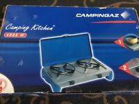 New campingaz camping kitchen gas cooker stove