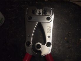 DURITE HEAVY DUTY ELECTRICAL CRIMPERS WITH ROTATING HEADS IDEAL FOR 3 PHASE,BATTERY CABLES,ETC.
