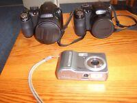 A bargain clearance of 2x Fujifilm cameras anda Samsung pocket camera.