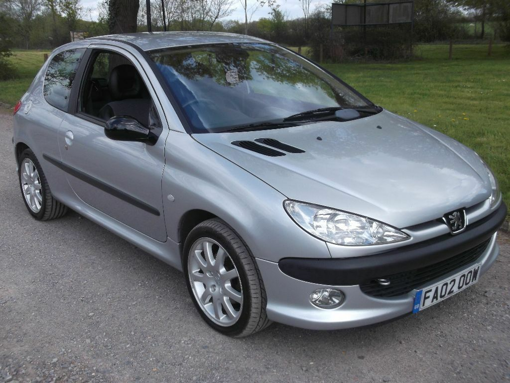 2002 peugeot 206 gti 2 0 mot april 2017 only 87 000 miles only 695 in southampton. Black Bedroom Furniture Sets. Home Design Ideas