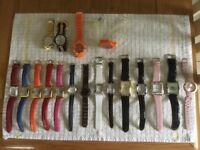 Assorted ladies watches