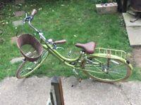 Raleigh Caprice Ladies' Town Bike - Green 17