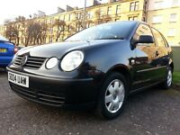★ ONLY 48,000 MLS ★2004 Volkswagen Polo Special Eds 1.4 Twist 5dr ★ STUNNING,FULL YRS MOT,FULL/SER/H