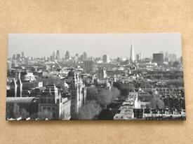 Cityscape Wall Canvas' - London, Cardiff, Edinburgh