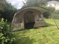 Large Family Tent, Excellent condition. 2 bedrooms and large communal area. Waterproof and sturdy!