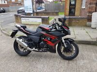 2015 ajs 125cc geared bike not r125 or cbr