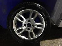 Ford Fiesta Alloy Wheel 185/55/R15