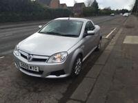 "Vauxhall tigra 1.4 twinport 2009""09"" silver with black trim ,alloy wheels"