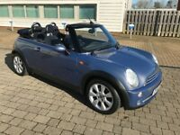 MINI COOPER CONVERTIBLE, LONG MOT, JUST SERVICED, TYRES, CLUTCH, EXHAUST