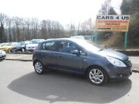 VAUXHALL CORSA DESIGN 5 DOOR 1.4CC PETROL, ONLY 67K MILES! COMES WITH 12 MONTHS MOT