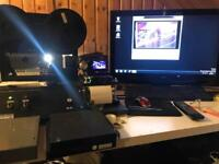 Cine film & video transfer business equipment