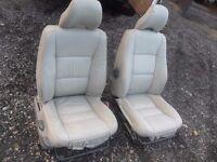 Mercedes vito leather seats