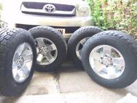 4x Alloy Wheels ALL TERRAIN tyres 4x4 Car Falken Wildpeak AT01 255/65R16