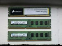 3x drr3 4gb memory pc