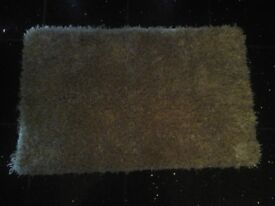 gold sparkly bath mat from next