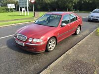 Automatic V6 24v very low miles full service history 2 owners Rover 45 2003 full leather px welcome