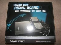M-Audio Black Box Guitar Recording Interface Pedal Board
